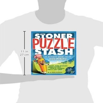 Harga The Stoner Puzzle Stash An Activity Book For The Highminded
