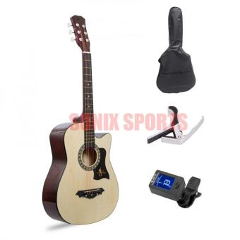 Harga Premiere Acoustic Guitar with Guitar Tuner Package (Natural)