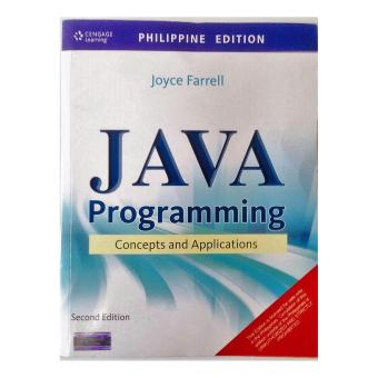 JAVA PROGRAMMING CONCEPTS AND APPLICATIONS Price Philippines
