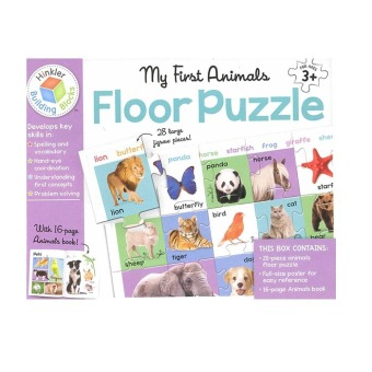 Harga WS Floor Puzzle My First Animals