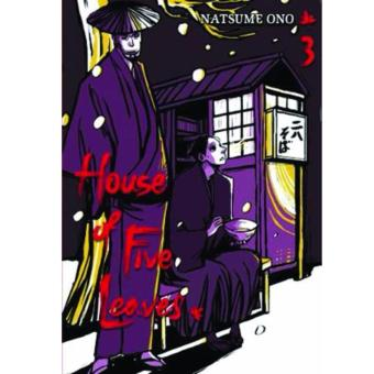 House of Five Leaves Vol. 3 Graphic Novel Price Philippines