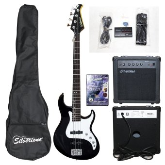 Silvertone Crusher Bass Guitar Package Price Philippines