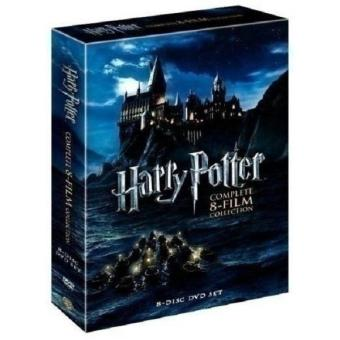 Harga Harry Potter - Complete 8-Film Collection DVD, 2011, 8-Disc Box Set - intl