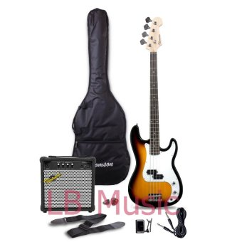 Thomson Electric Bass Guitar with 15watts Amp Package (Sunburst) Price Philippines