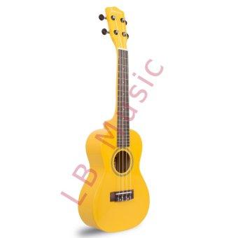 Jasmine Concert Colored Ukulele Ukelele (Yellow) - 2