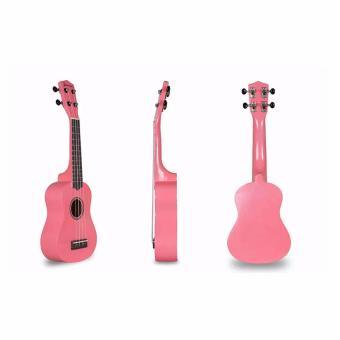Jasmine Concert Packaged Colored Ukulele (Pink) - 2
