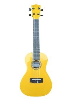 JASMINE Concert Ukulele with Bag (Yellow)