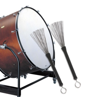 Jazz Drum Sticks Jazz Drum Brush Professional Drumsticks withHandle - intl - 2