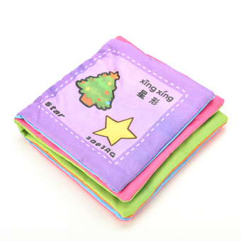 Jetting Buy Fabric Book Baby Educational Development Shapes