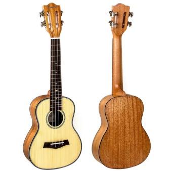 Kmise Classical Concert Ukulele Beginner Kit Solid Spruce Mahogany23 Ukelele Hawaii Guitar for Starter and FREE 9 GIFTS - intl - 2