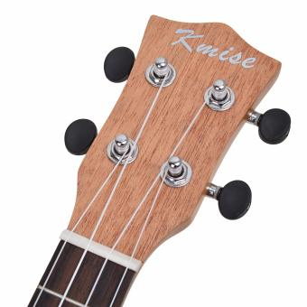 Kmise Solid Spruce Top Concert Ukulele 23 inch Hawaii GuitarMahogany Back Bone Saddle W/Bag JOYO Tuner - intl - 4