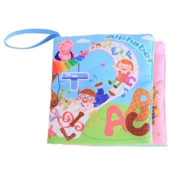 LALANG Baby Educational Early Learning Cloth Book Alphabet PictureCognition