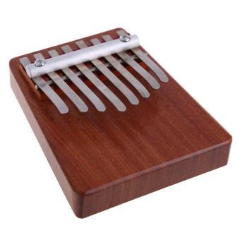 leegoal 8 Key Finger Piano Kalimba Mbira Likembe Sanza Thumb Piano(Red) - intl - 2
