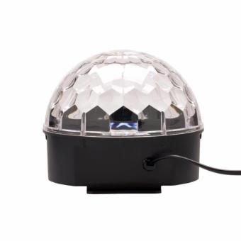 Lighting Crystal Magic Ball Christmas Light SD Card MP3 Speaker DMX512 DJ Lights Dance Club Party Disco Ball Lamps KTV Bar Effect Lighting Show + Remote Control - 4