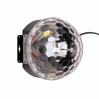 Lighting Crystal Magic Ball Christmas Light SD Card MP3 Speaker DMX512 DJ Lights Dance Club Party Disco Ball Lamps KTV Bar Effect Lighting Show + Remote Control - 3