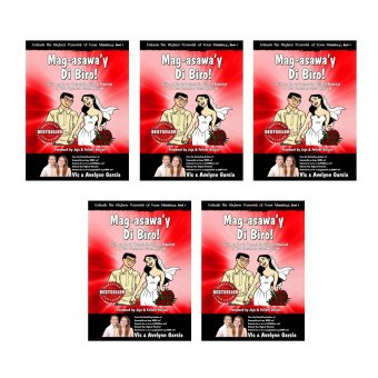 Mag-asawa'y Di Biro! Book by Vic and Avelynn Garcia (Red) (5 PCS)