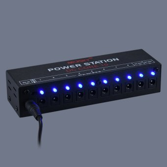 Mini Power Supply Station 10 Isolated DC Outputs for 9V 12V 18V Guitar Effect with Power Cables - intl - 4