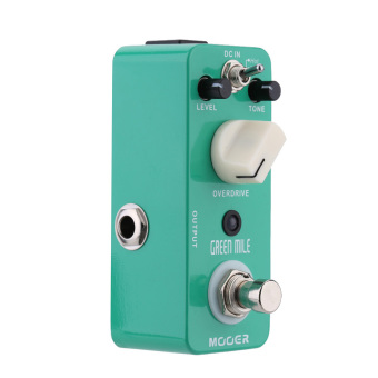 Mooer Green Mile Micro Mini Overdrive Electric Guitar Effect Pedal (Intl) - 2