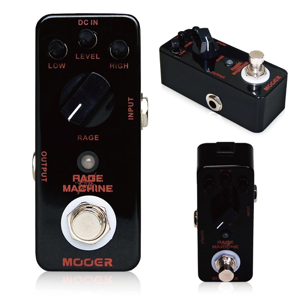 Mooer Rage Machine Metal Distortion Electric Guitar Effect PedalTrue Bypass MMD2 ...