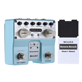 MOOER Reverie Reverb Guitar Effect Pedal 5 Reverberation Modes 5Enhancing Effects with Two Footswitch - intl - 3
