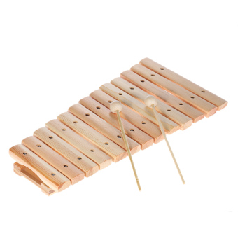 Musical Xylophone Piano Wooden Instrument for Children Kids Baby Music Educational Toys with 2 Mallets