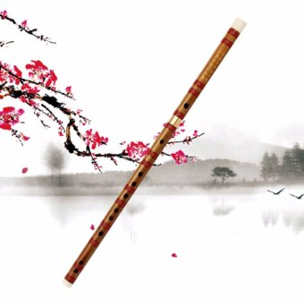 New Universal Chinese Traditional Musical Instrument Handmade Bamboo Flute D Key - intl