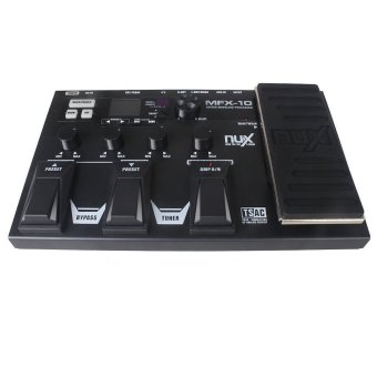 NUX MFX-10 Multi-Effects Processor Guitar Pedal