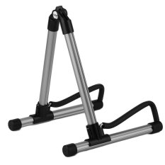 OH SK20 Alloy Guitar Stand Universal Folding For Acoustic Electric Guitars Gray - intl