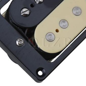 open humbucker Electric Guitar pickups Black+Cream - 4