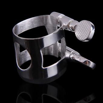 Perfect Metal Alto Saxophone Sax Mouthpiece No.6 New (Silver) - 3