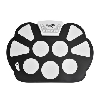 Portable Digital Electronic Roll-up Drum Foldable Silicone Pad Kitwith Speaker - intl - 5