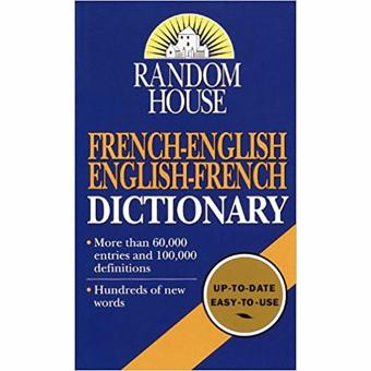 Random House French-English English-French Dictionary Price Philippines