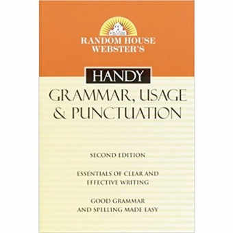 Random House Webster's Handy Grammar, Usage & Punctuation Price Philippines