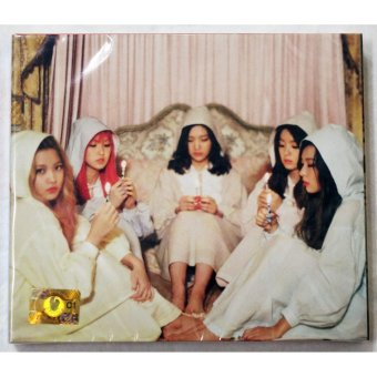RED VELVET - The Velvet (2nd Mini Album) CD+Folded Poster+ExtraPhotocards Set - 2