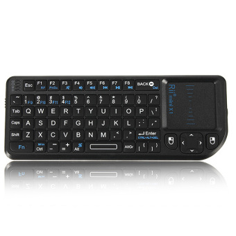 Rii Mini X1 2.4G Wireless Keyboard with Mouse Touchpad for PC Notebook Smart TV NEW - intl