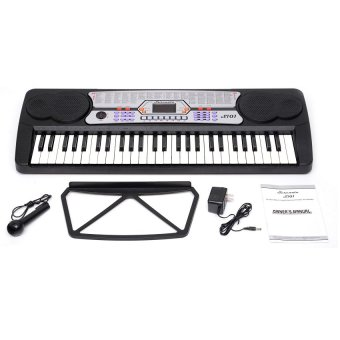 Serenata S101 Digital Keyboard (Black) - 2