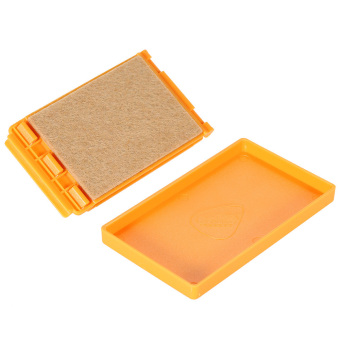 Small Exquisite Guitar String Cleaner High Quality Wool Felt inside W/ Microfiber Cloth (Intl) - picture 2