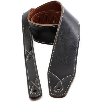 Soldier STP-GL-015 Leather Guitar Strap (Black) Price Philippines