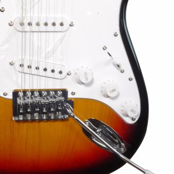 Soundcheck Electric guitar with free capo (Sunburst) - 3