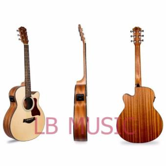 Thomson GS mini 3/4 w/ pickup and built-in tuner sprucetop acousticguitar package (Natural) - 3
