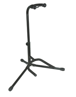 Tubular Guitar Stand (Black)