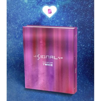 TWICE - SIGNAL (4th Mini Album) [B ver.] Folded Poster + Pre-orderBenefits + Free Gift