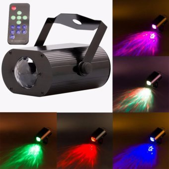 U'King Water Wave Stage Light 9W LED RGB Ripple Stage Effect Light+ Remote Control - intl Price Philippines