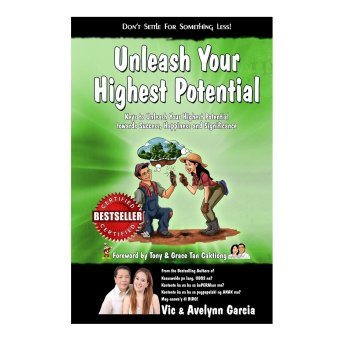 Unleash your Highest Potential Book (Green) by Vic and Avelynn Garcia