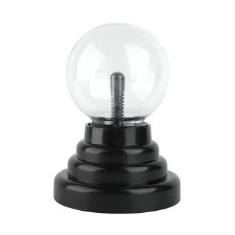 USB or Battery Operated Magic Lightning Plasma Ball DecorativeLight Desktop Sphere Lamp Disco Party Gift - intl - 3