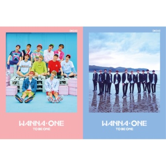 WANNA ONE - 1x1=1 (TO BE ONE) [Random ver.] (1st Mini Album) CD +Folded Poster + Free Gift - intl