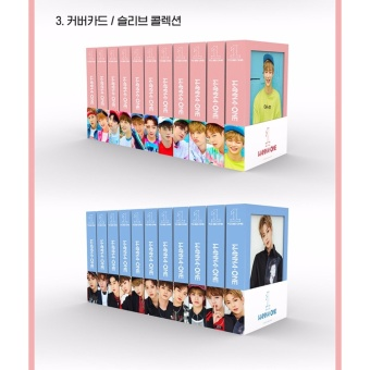 WANNA ONE - 1x1=1 (TO BE ONE) [Sky ver.] (1st Mini Album) CD +Folded Poster + Free Gift - intl - 4