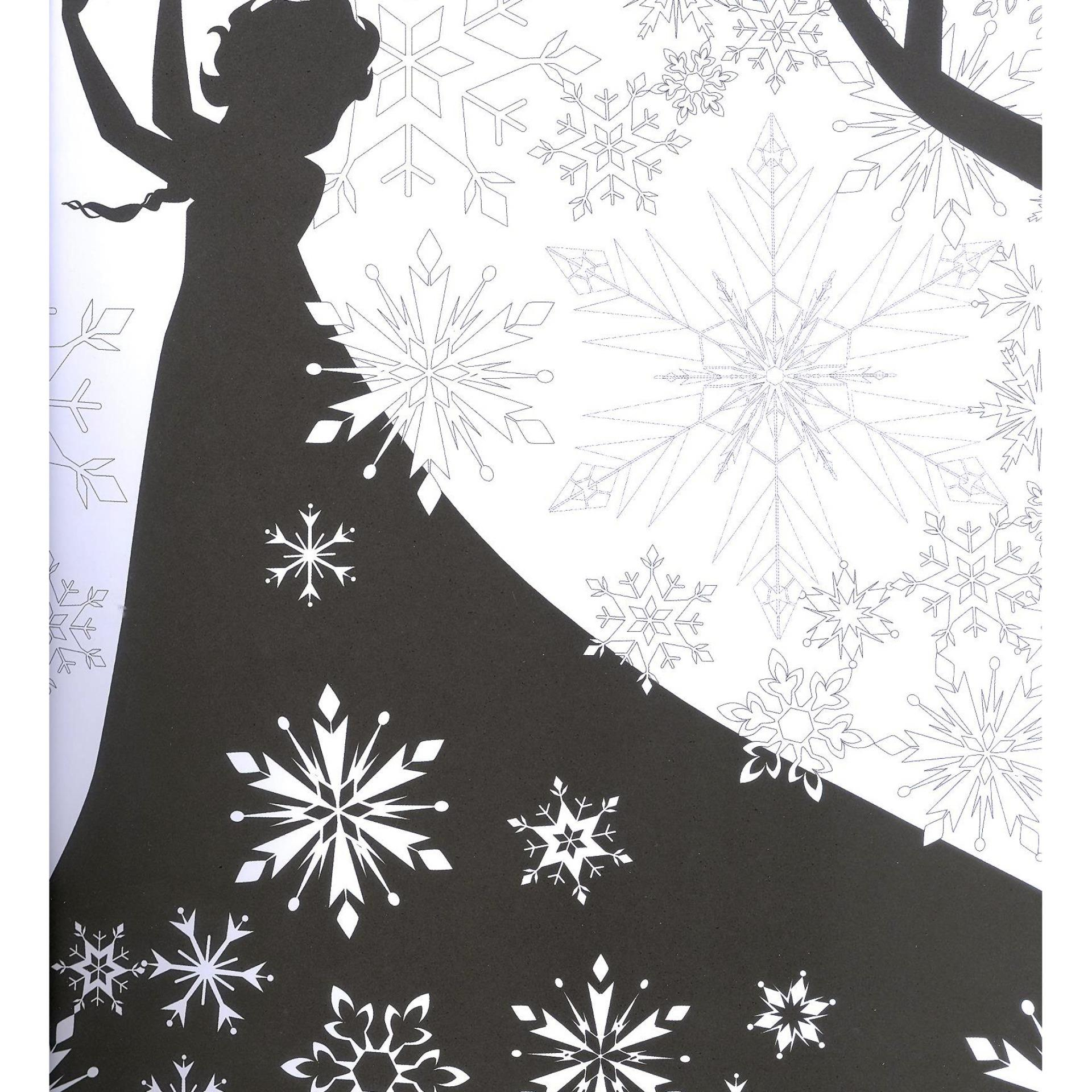 WS Disney Frozen Art Therapy Coloring Book