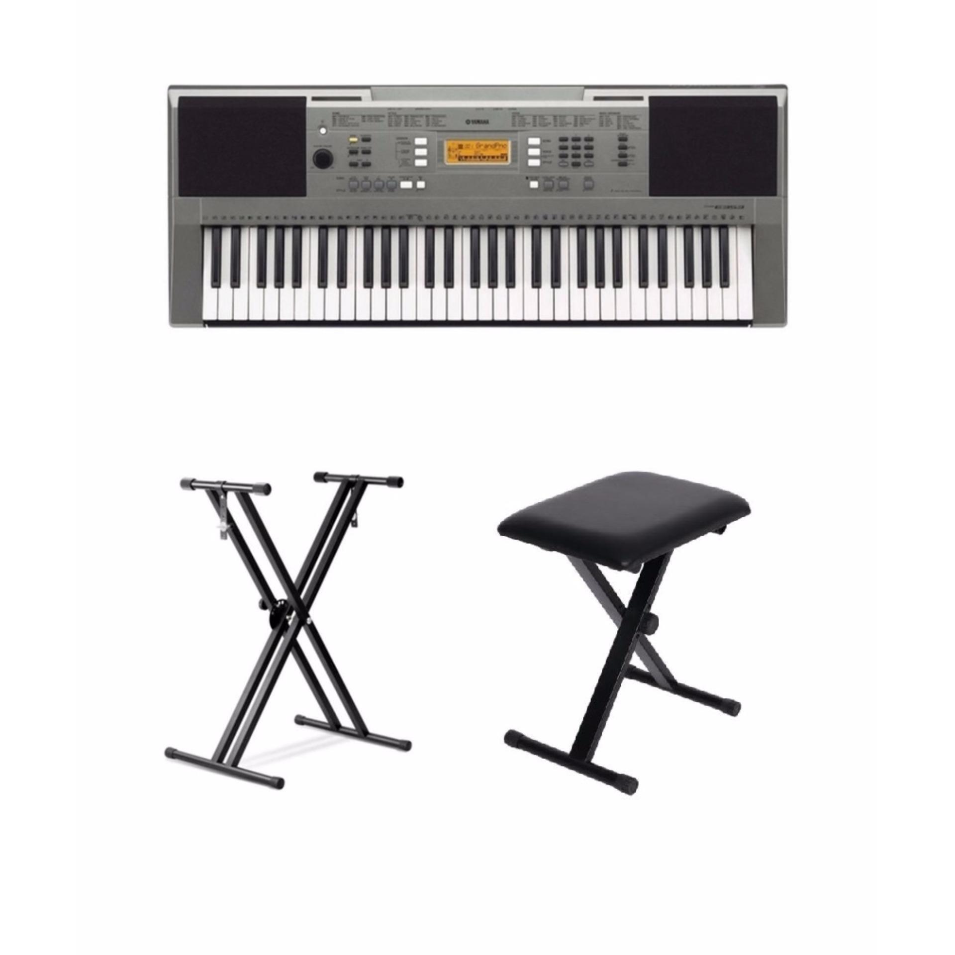 Philippines Yamaha Psr E353 Keyboard With Double Stand And Bench