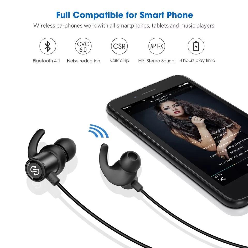 Q30 Plus SoundPEATS Magnetic Wireless Earbuds Bluetooth Headphones Sport  In-Ear IPX6 Sweatproof Earphones with Mic